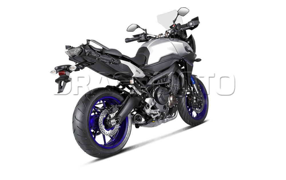 akrapovic yamaha mt 09 mt09 tracer 2016 16 full exhaust. Black Bedroom Furniture Sets. Home Design Ideas