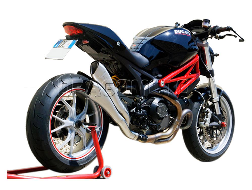 monster 1100 evo 2013 13 ducati exhaust hp corse hpcorse hydroform ebay. Black Bedroom Furniture Sets. Home Design Ideas