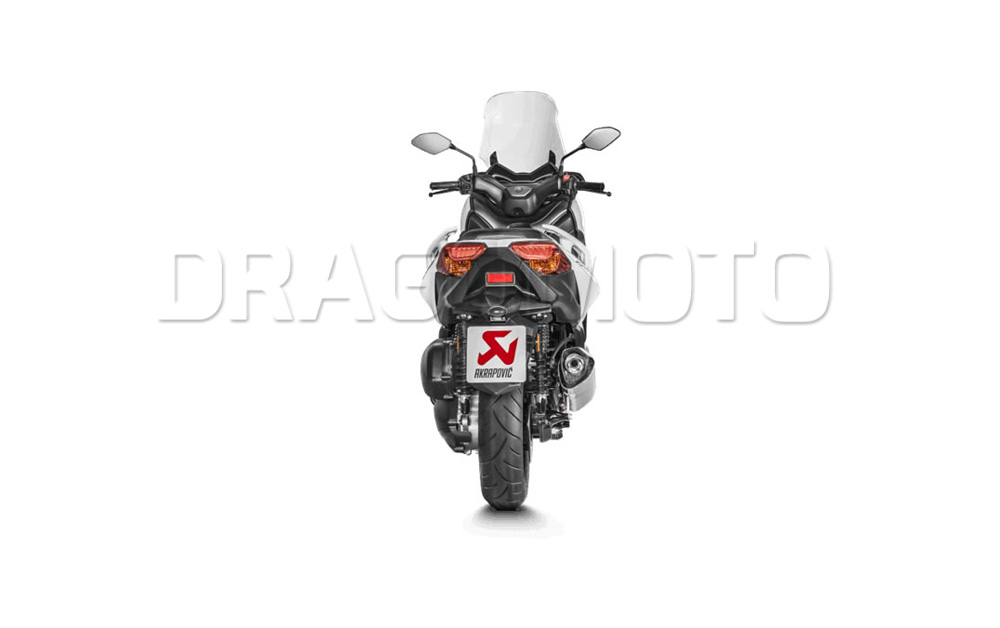 Details about Akrapovic Yamaha X-MAX XMAX 300 2017 17 2018 18 Exhaust