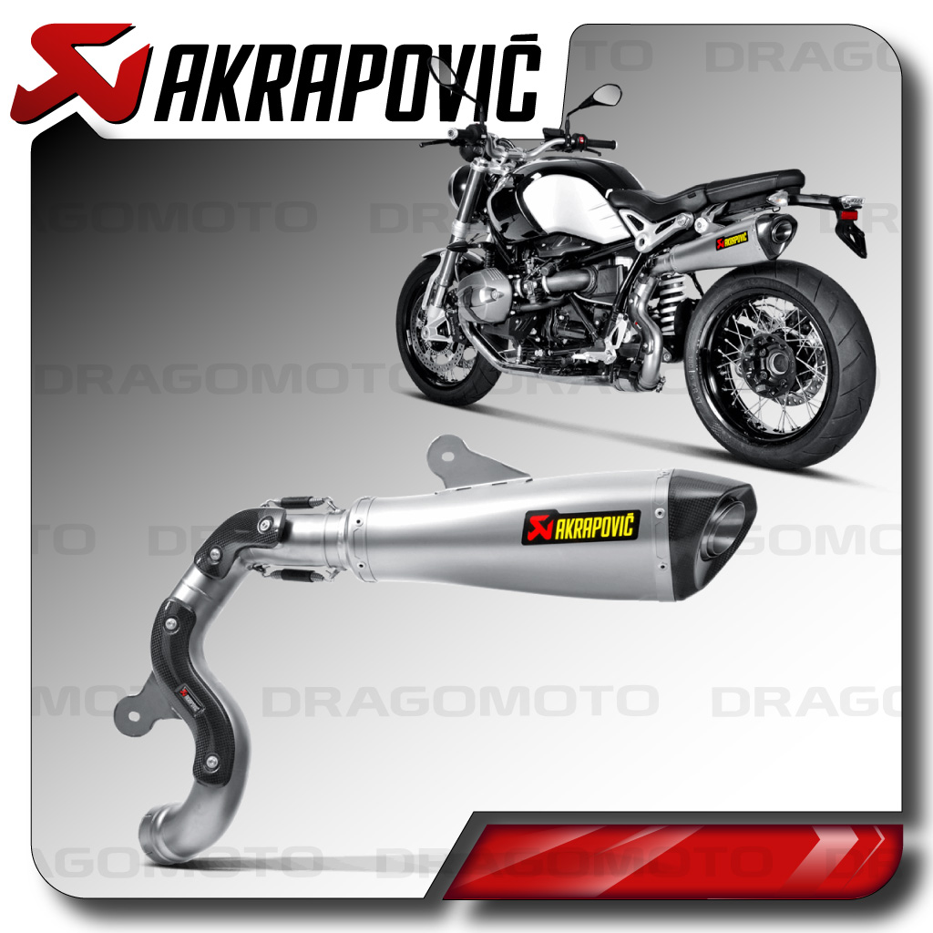 bmw r nine t akrapovic 2016 exhaust high titanium ebay. Black Bedroom Furniture Sets. Home Design Ideas