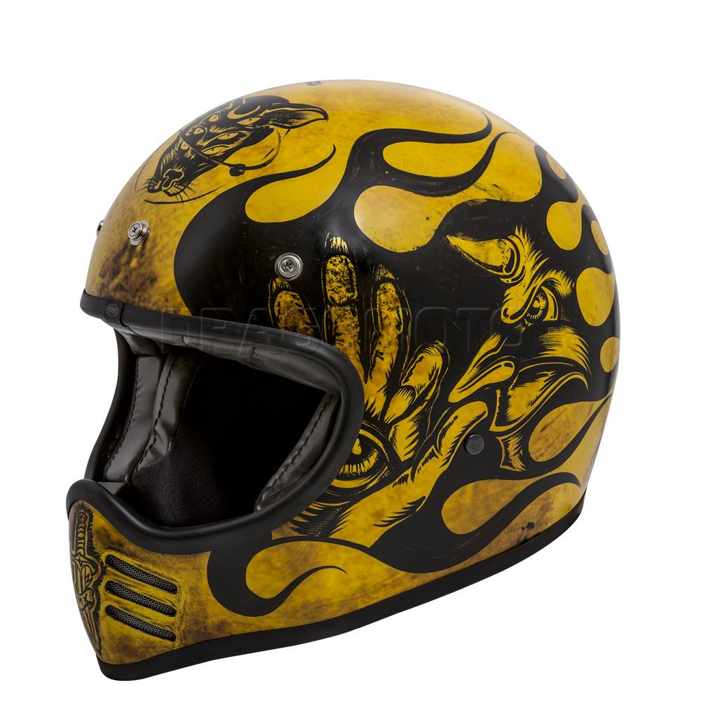 Casque-Moto-Mx-Bd-12-Bm-Premier-integraux-Cafe-racer